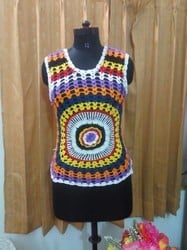 Crochet Top With Cotton Yarn