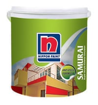 Nippon Samurai Water Based Exterior Acrylic Emulsion Paint