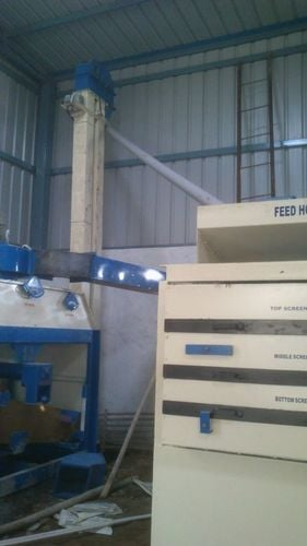 AUTOMATIC SEED PROCESSING PLANT