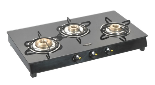 3 Burner Glass Top Stove in  1-Sector - Bawana