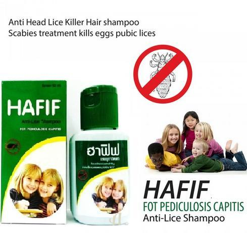 Hafif - Anti Lice Shampoo For Pediculosis Capitis - Childrens and Adults ANTI HEAD LICE Hair Shampoo