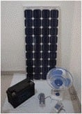Solar System for Home Application