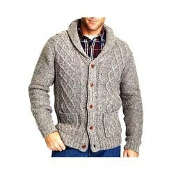 Mens Knitted Cardigan