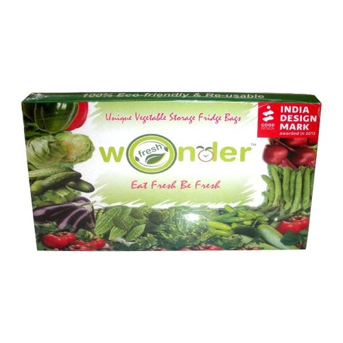 Wonder Fresh Vegetable Storage Fridge Bags