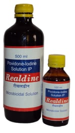 REALDINE - Povidone-Iodine Solution IP