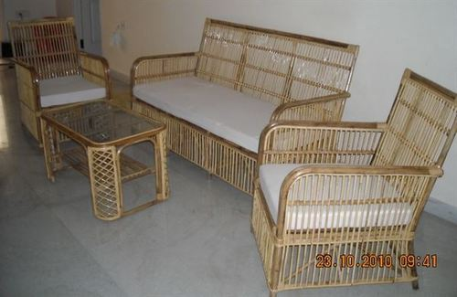 Bamboo Cane Sofa Set   M N Cane Furniture, No. 76/6, 5th Cross, Next To  Icici Bank, 4Th Main Road, Maleshwaram, , Bengaluru, India