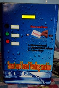 Smart Card Based Water Vending Machine