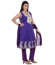 Cotton Anarkali Suit in  Bankra