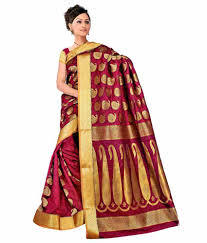 Fashionable Silk Sarees with Border