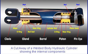 Durable CLW Hydraulic Seals