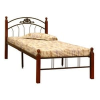 Durable Wooden Single Bed