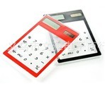 Solar Energy Transparent Touch Calculator