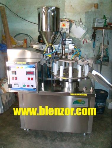 Semi Automatic Tube Filler Machine