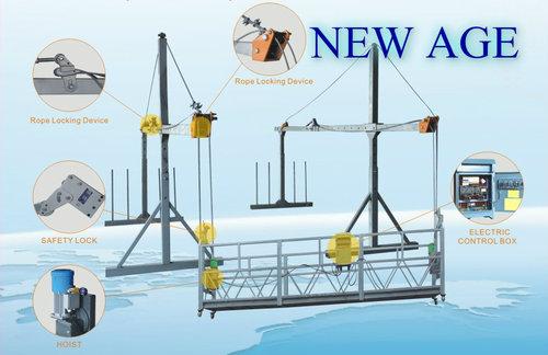 Steel Wire Rope Suspended Platform