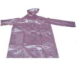 Ladies Printed Raincoat