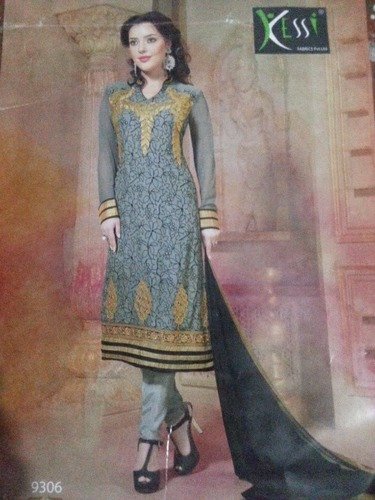 Synthetic Churidar Suits in  Old Washermentpet