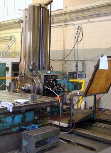 Pegard Horizontal Floor Type Boring Mill