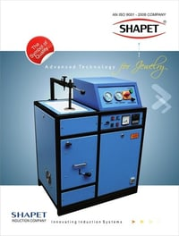 Induction Based Silver Casting Furnace (500Gms. In Single Phase)