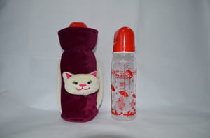 Royal Baby Bottle Cover With Bottle