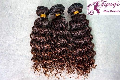 Deep Curly Human Hair in  Phase-Ii