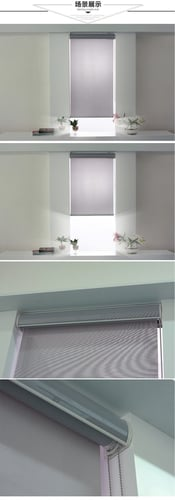 Hoan Sunscreen Fabric Roller Shades (5 Colors)