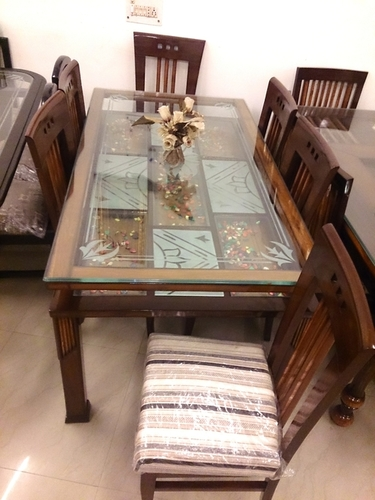Designer Wooden Dining Table Chairs Sets In Kirti Nagar