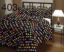 Dark Colour Printed Quilt