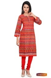 Beautiful Design Ladies Colorful Long Kurti