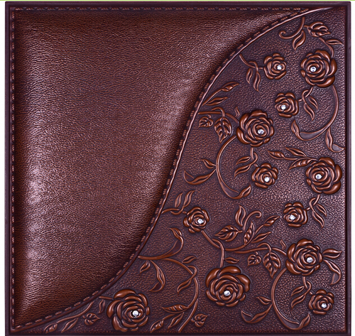 Embossed 3d Leather Wall Panels