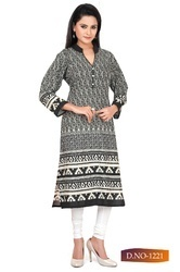 Ladies Perfect Finish And Texture Kurti