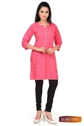 Ladies Simple Shorts Kurti