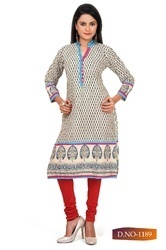 Office Wear Ladies Colorful Long Kurti
