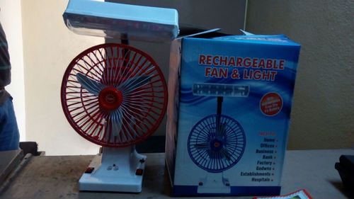 Rechargeable Fan and Light
