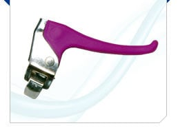 Plastic Lever with Steel Bracket & Returnable Spring