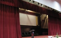 Automatic Motorized Stage Curtain