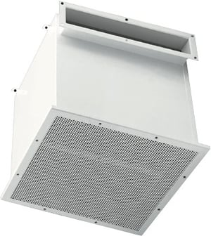 Exhaust Air Device For Clean Rooms