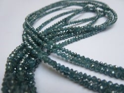 Blue Diamond Bead