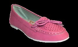 Red Cherry Pink Moccasin