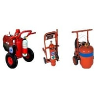 Fire Extinguisher Foam And Co2 Trolley