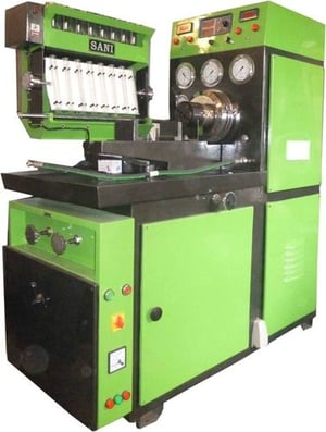 8 Cylinder Fuel Injection Pump Test Bench