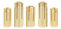 Brass Slotted Concrete Anchors