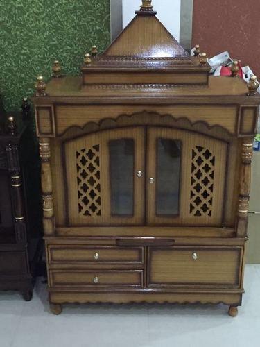 Stylish And Modern Wood Mandir