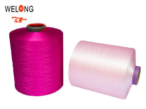 100 Polyester Yarn For Knitting Dty