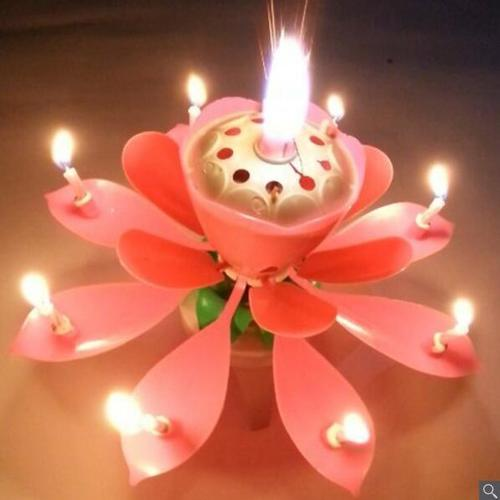 Cheaper Flower Birthday Candle
