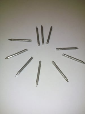Headless Pins With Knurling