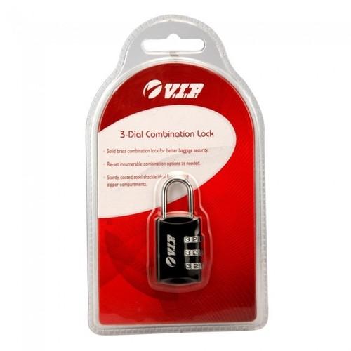 3 Dial Combination Lock