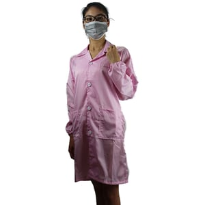 Low Lint Clean Fiber Anti-static Safety Coats for Electronic Factory