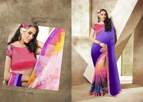 94483a2f2a Latest Designer Fancy Silk Sarees in Mumbai, Maharashtra - KRIVI ...