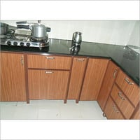 Aluminium Metal Interior Modular Kitchen