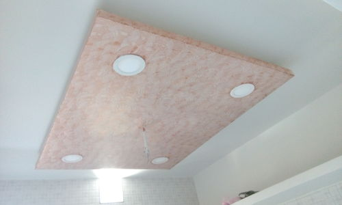 attractive false ceiling and pop design in gotri vdr - Pop Design Photo